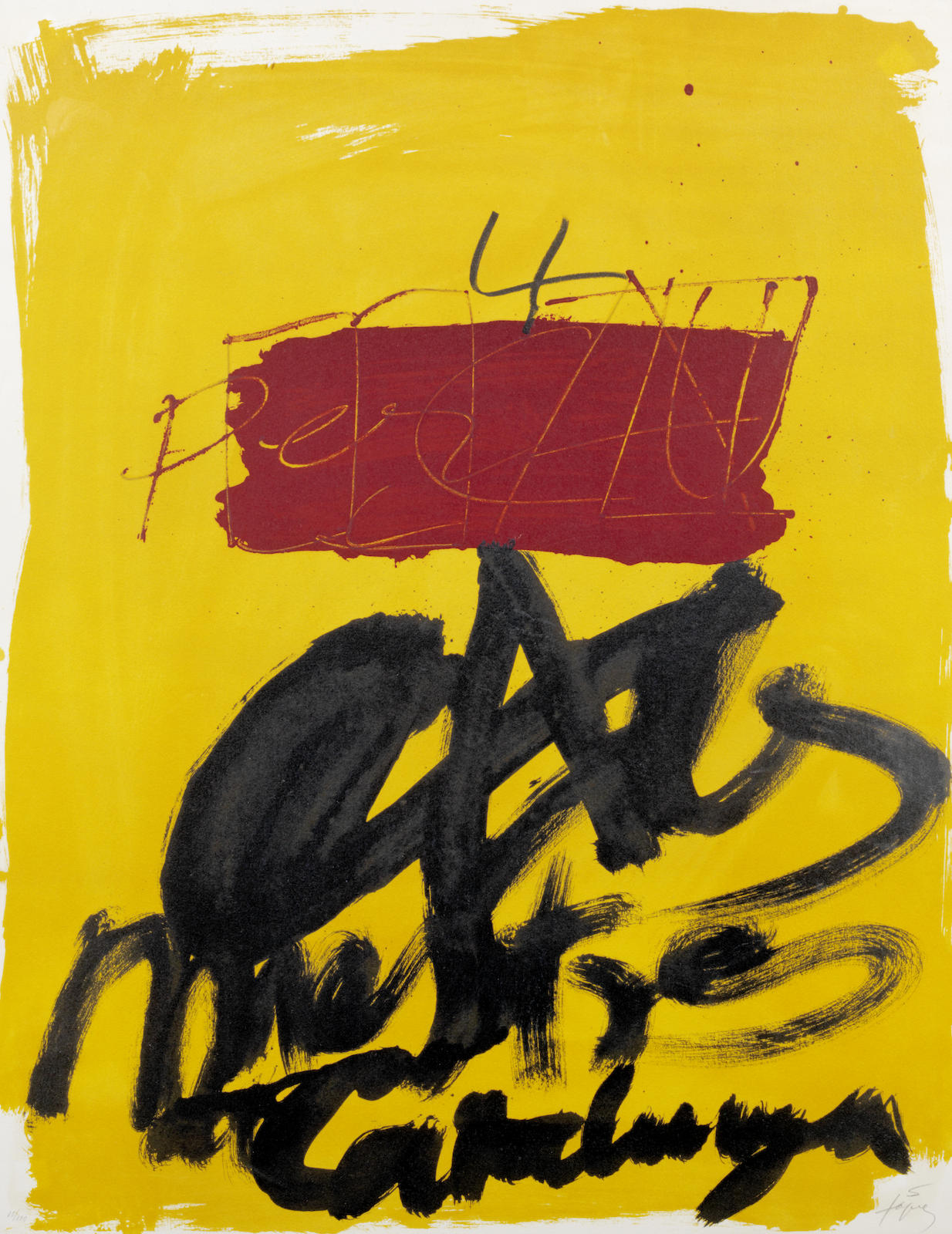 Antoni Tapies-Untitled-1972