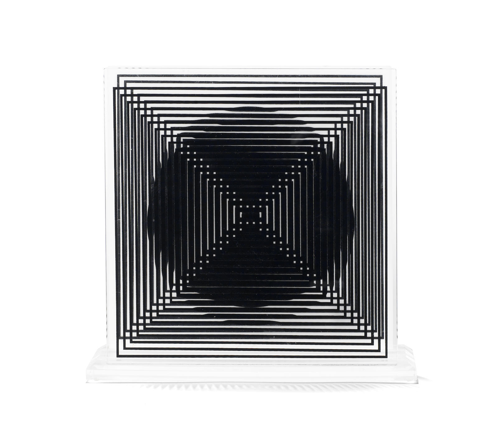 Victor Vasarely-11 + 1 unframed-1985