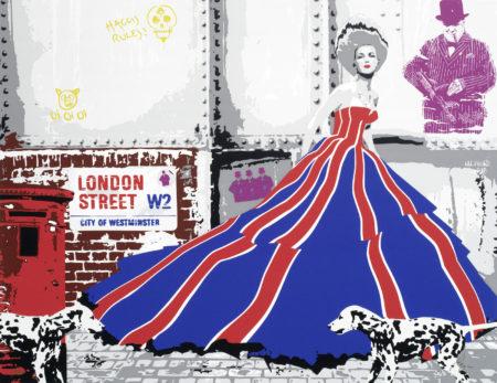 Richard Ryan-London by Ryan ('Savile Row', 'London Street', 'London Victoria Station', 'Parliament')-2010