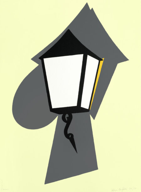 Patrick Caulfield-Wall Lamp (Cristea 86)-1994