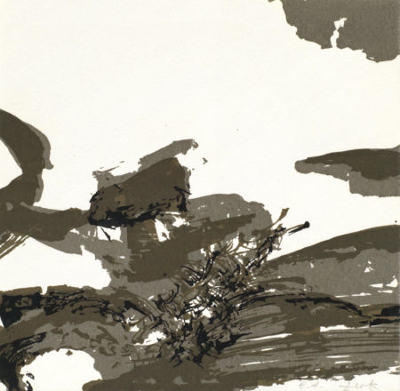 Zao Wou-Ki-Untitled (Agerup 239)-1973