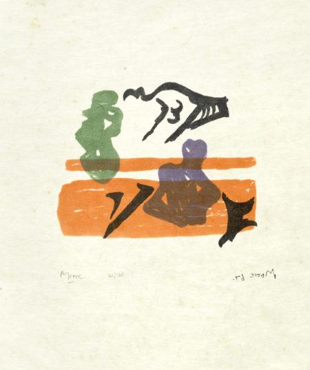 Henry Moore-Shelter Sketch Book-1967