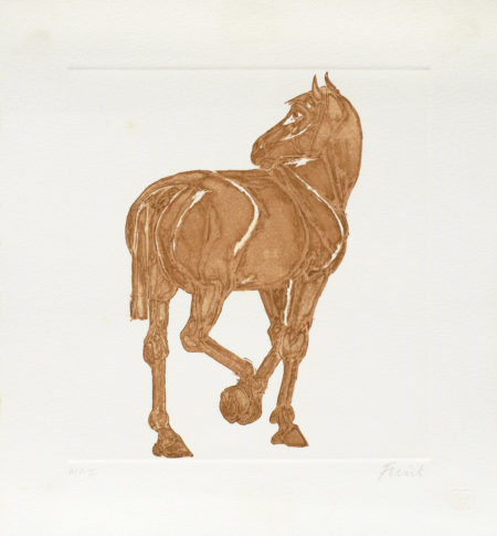 Elisabeth Frink-Horse-1986