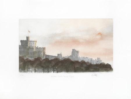 HRH Prince of Wales - Windsor Castle North Aspect-1991