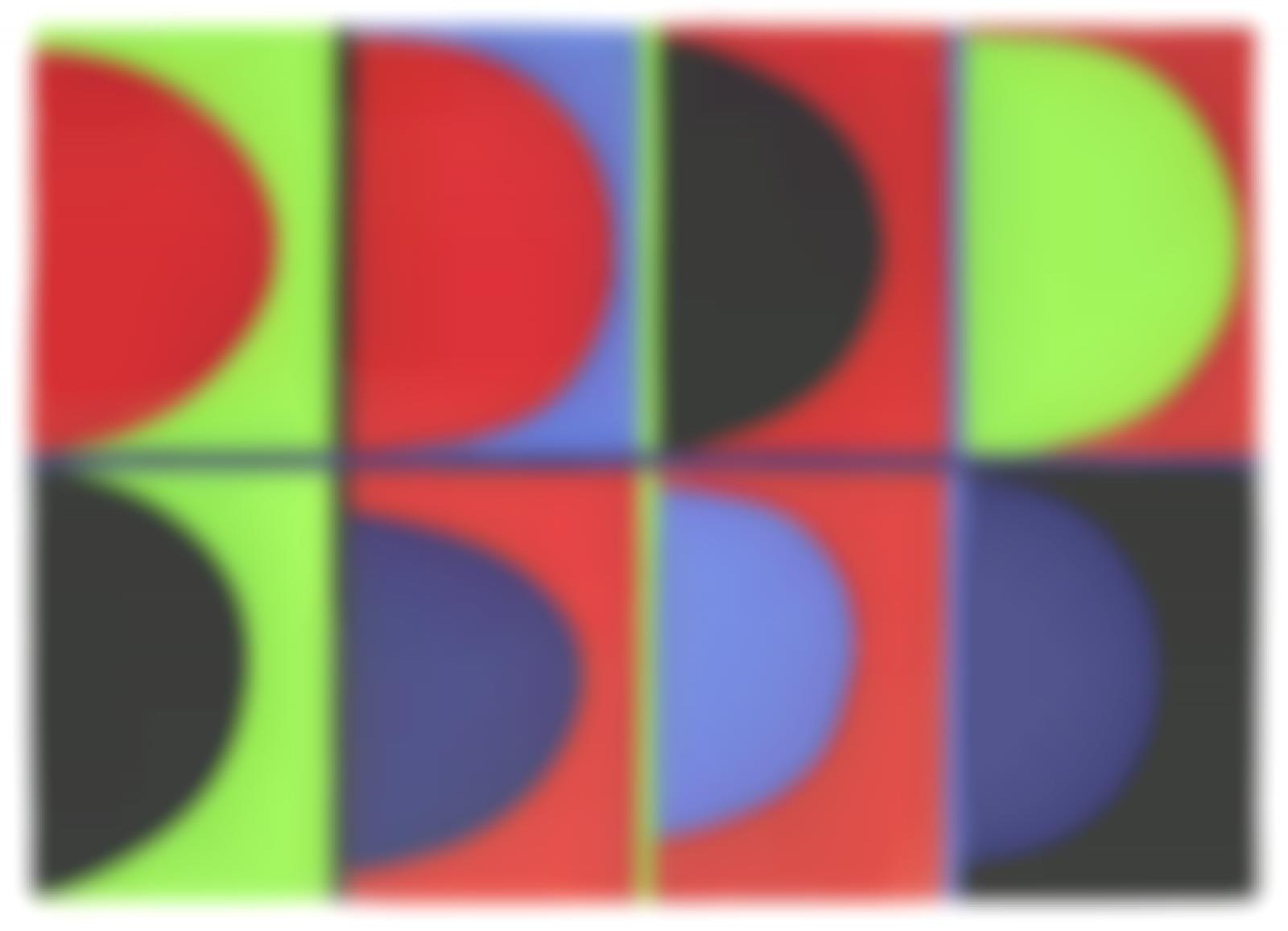 Terry Frost-Red, Blue, Green-1972