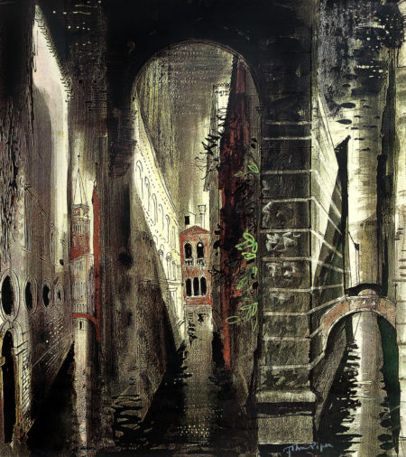 John Piper-Death In Venice I-1973