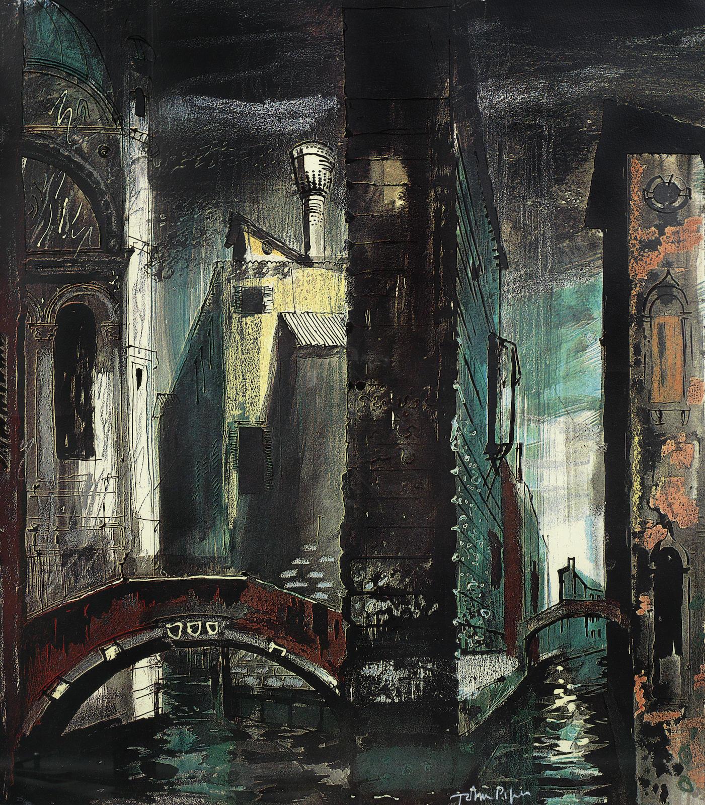 John Piper-Death In Venice II-1973