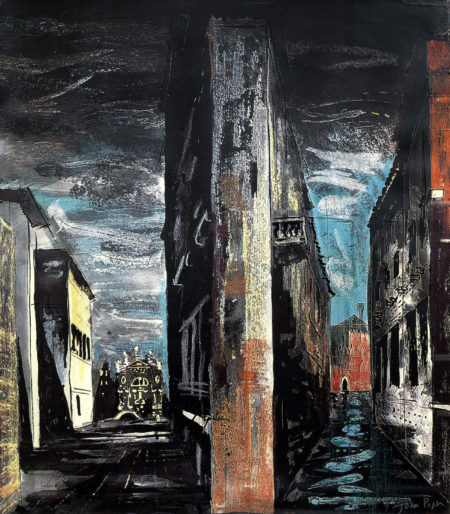 John Piper-Death In Venice VII-1973
