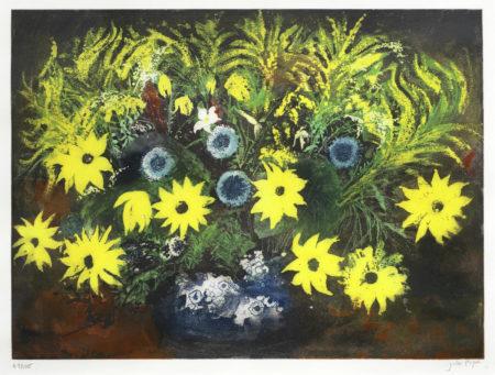 John Piper-Yellow Flowers-1987