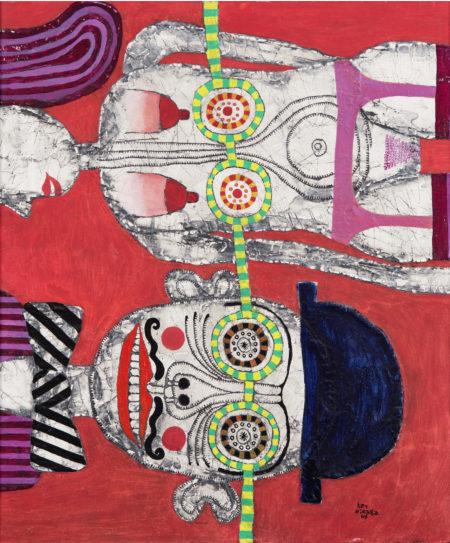 Key Hiraga-Two Figures-1967