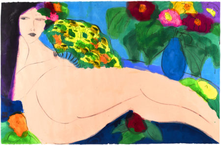 Walasse Ting-Untitled-1980