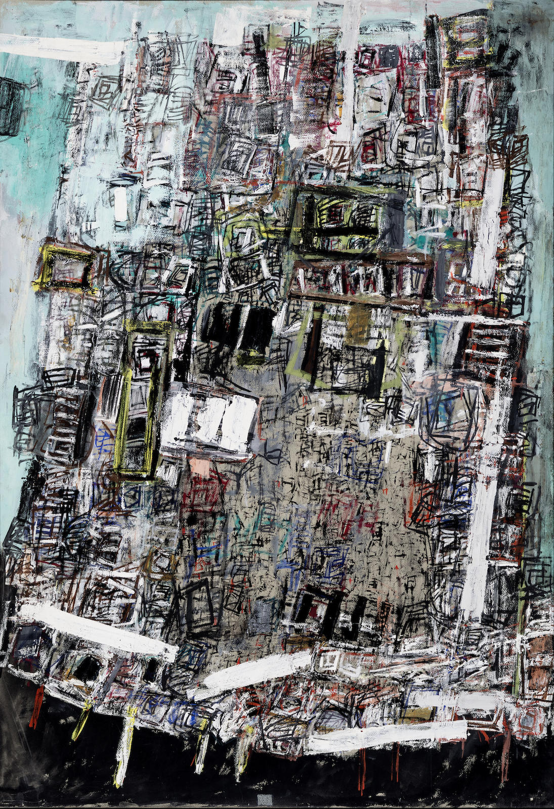 Chinn Yuen-Yuey-Abstract Composition-