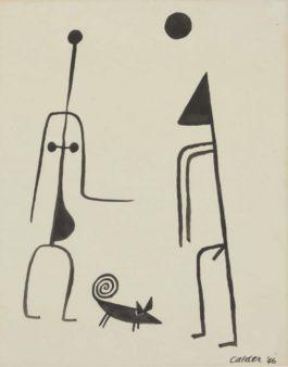 Alexander Calder-Sans titre-1946
