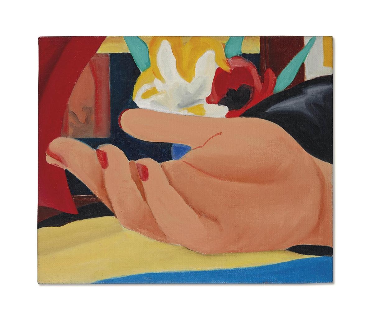 Tom Wesselmann-Study for Gina's Hand-1981