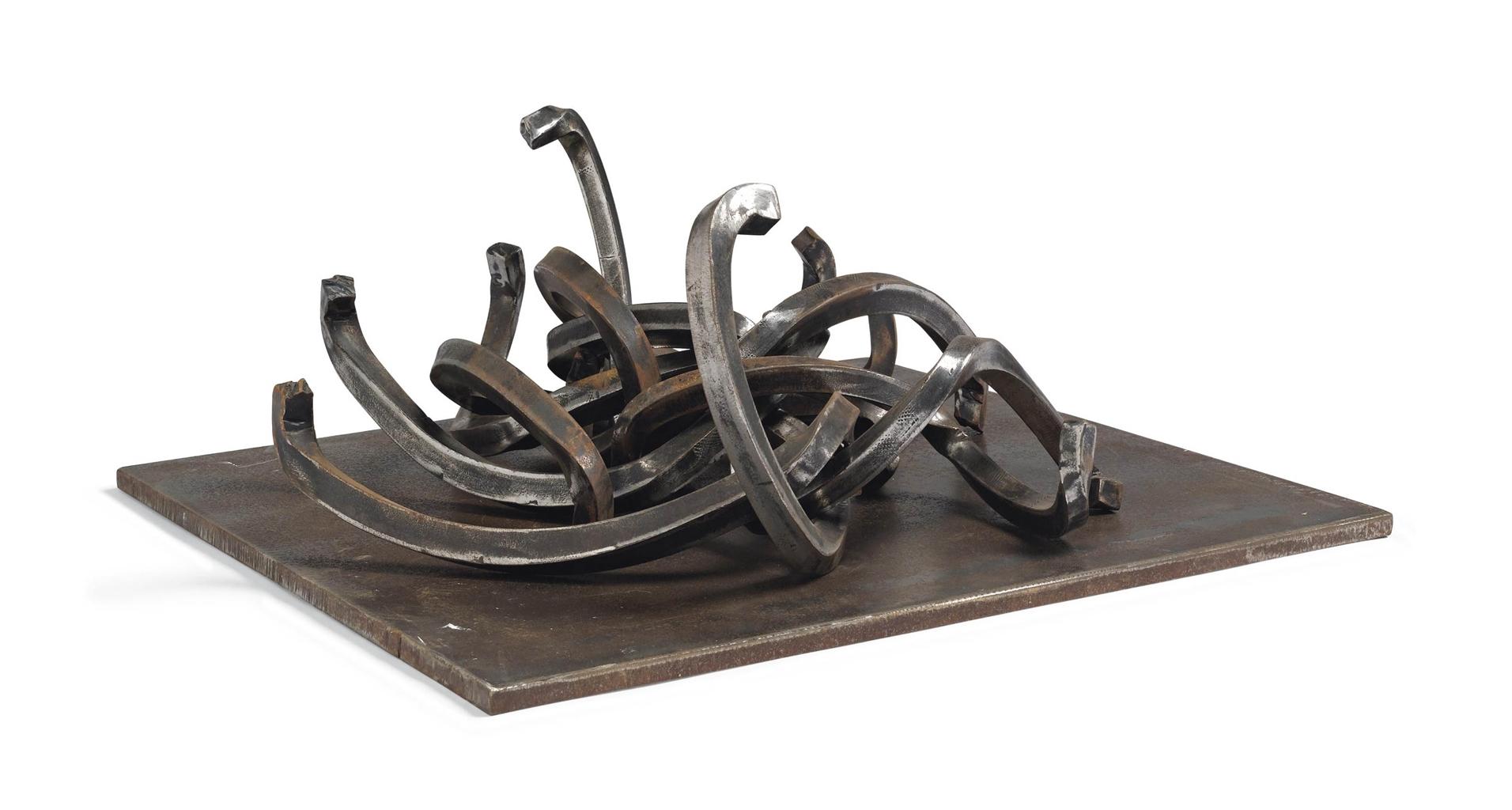 Bernar Venet-Random combination of Indeterminate lines-1991