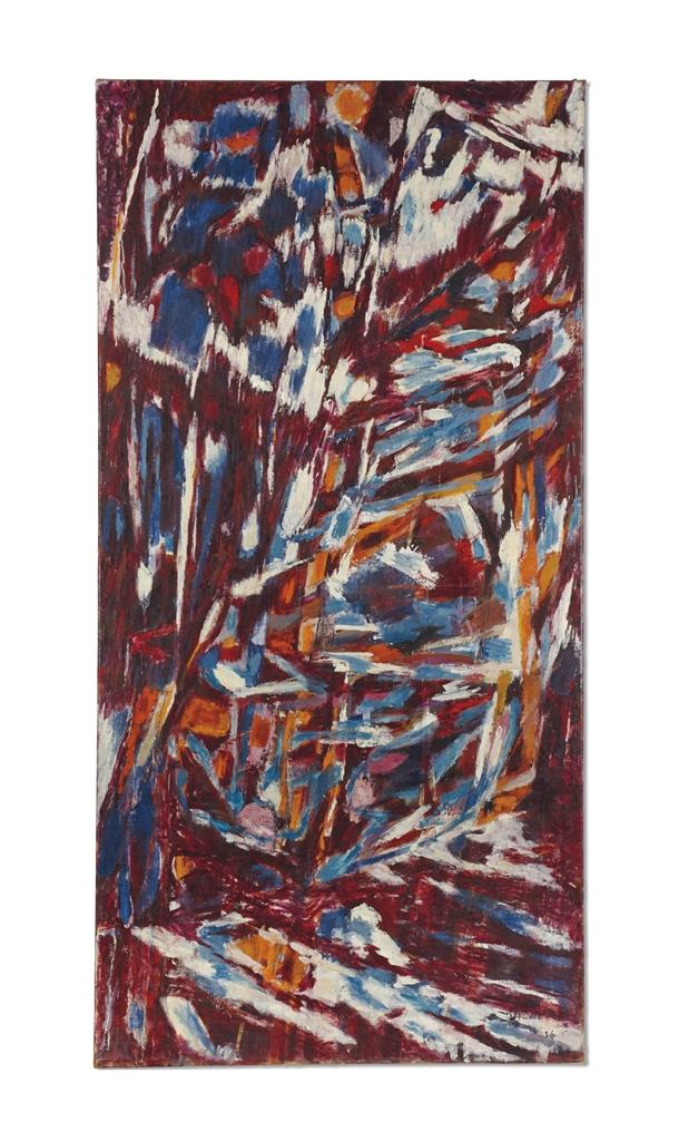 Jean Bazaine-Mars, le Torrent-1956
