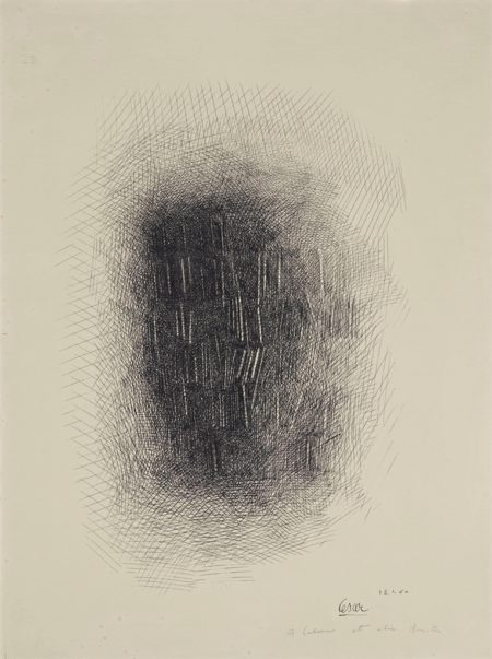 Cesar-Arrachage et dessin-1960