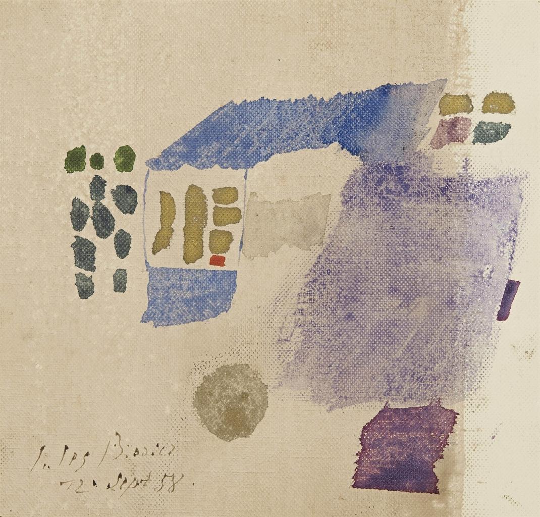 Julius Bissier-12 sept 58-1959
