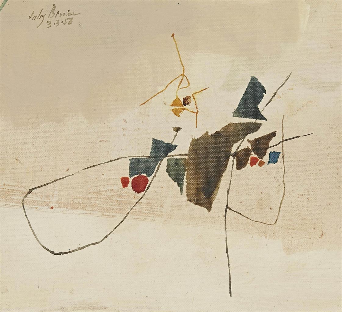 Julius Bissier-3.3.56-1956