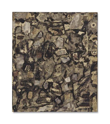 Jean Dubuffet-Topographie gaillard novembre-1958