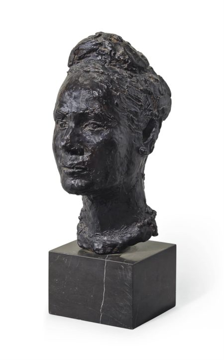 Germaine Richier-Portrait de Madame G.H.-1942
