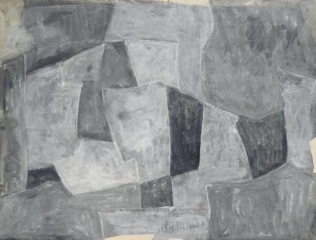 Serge Poliakoff-Composition abstraite-1959