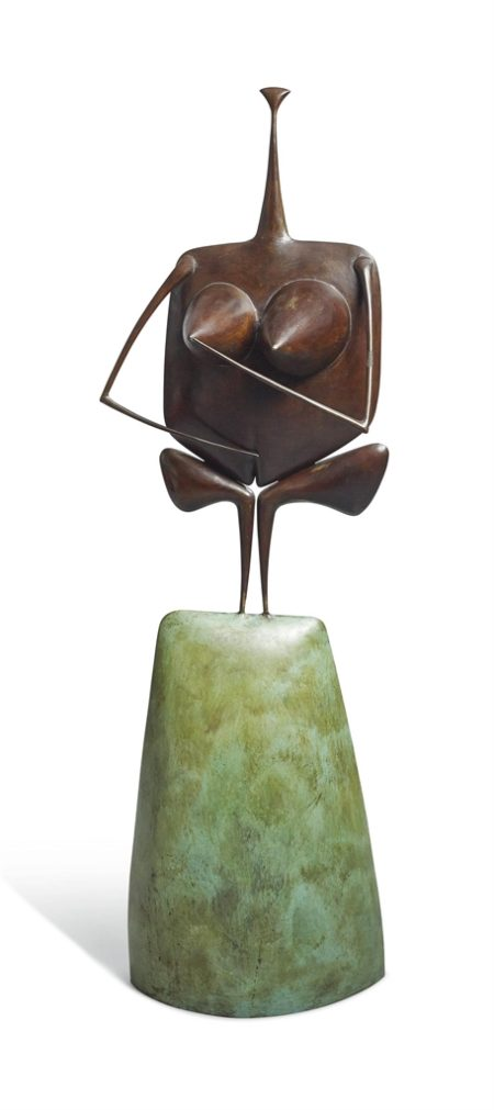 Philippe Hiquily-La Dent Creuse-1989
