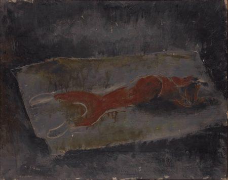 Jean Fautrier-Le lapin ecorche-1926