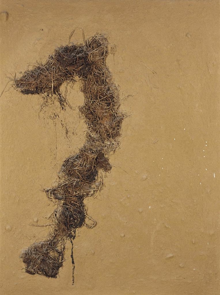 Angel Alonso-Terre blonde et grande paille-1975