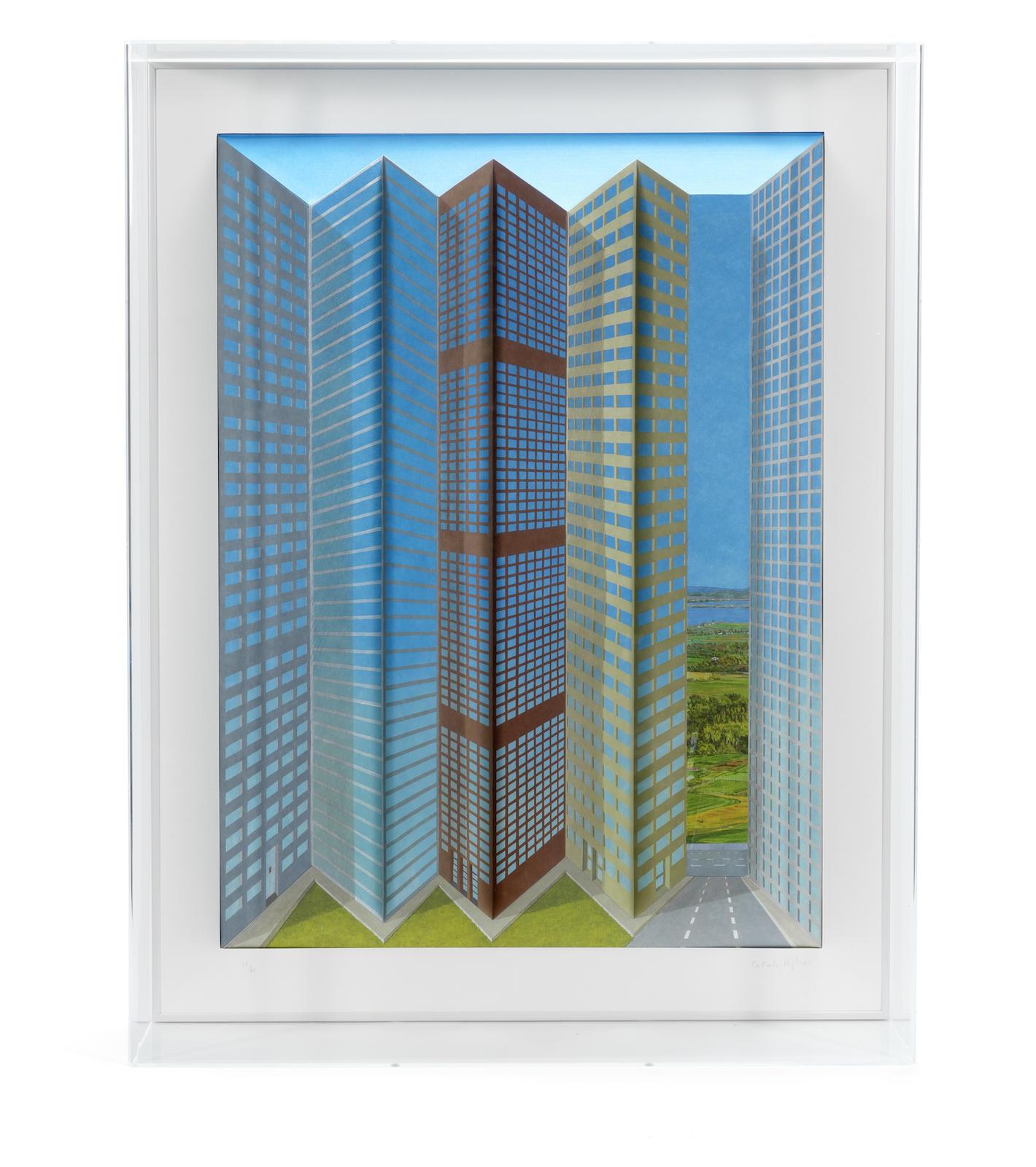 Patrick Hughes-City-2000