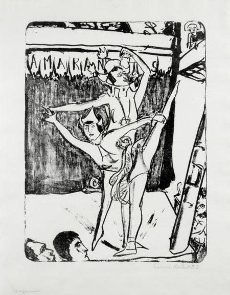 Erich Heckel-Tanzerinnen-1922