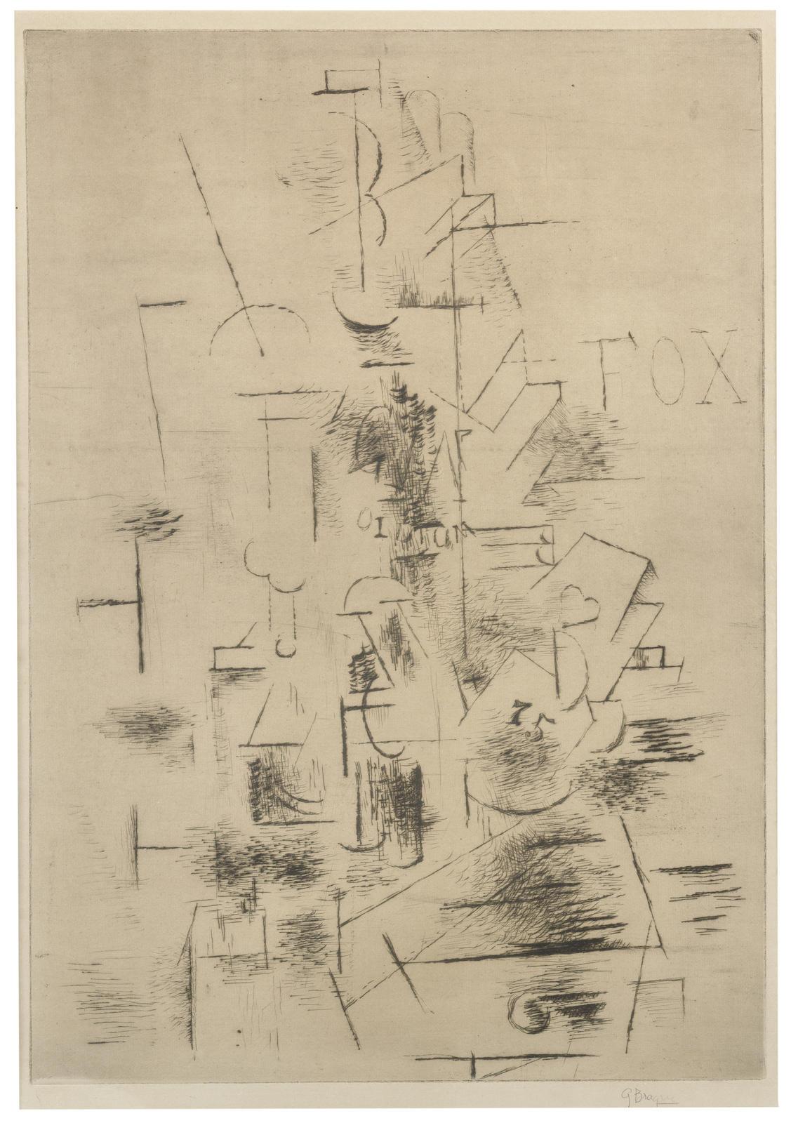 Georges Braque-Fox-1911