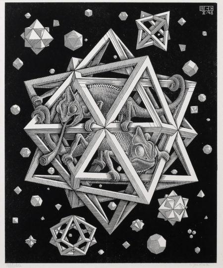 Maurits Cornelis Escher-Stars (Sterne)-1948