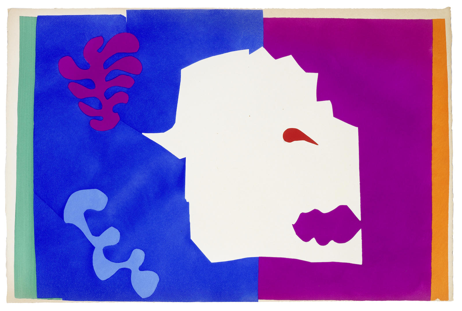 Henri Matisse-Le Loup, from Jazz (Duthuit Books 22)-1947