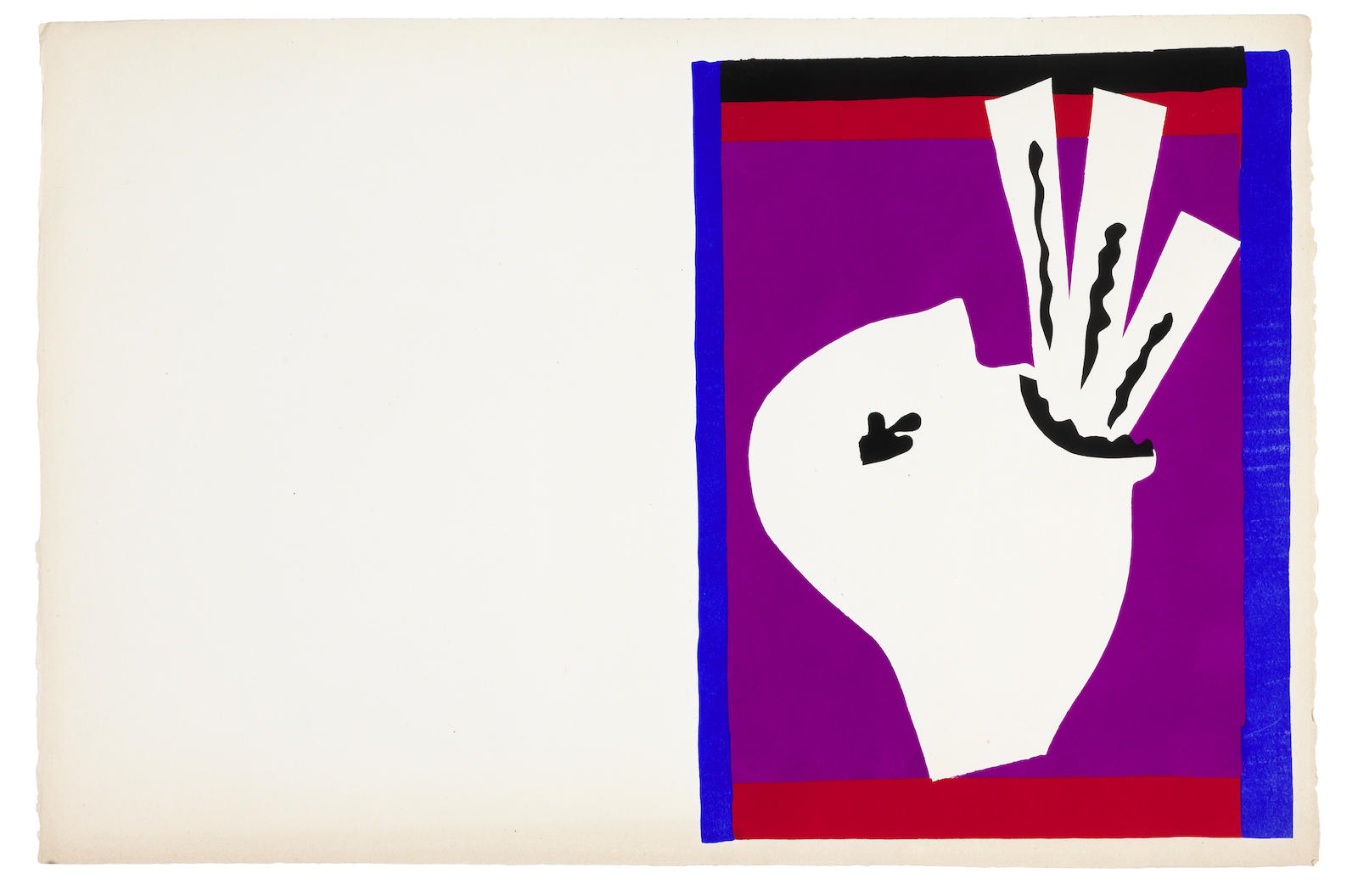 Henri Matisse-L'avaleur de sabres, from Jazz-1947