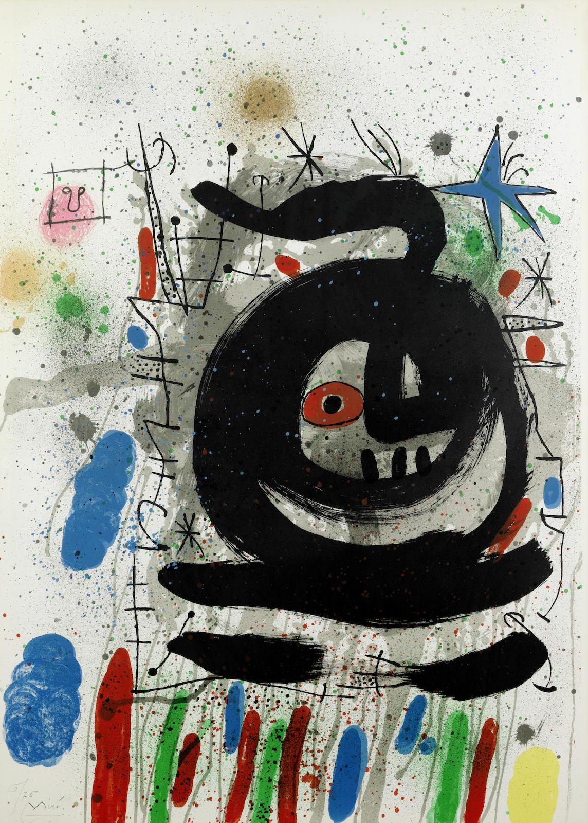 Joan Miro-Club 49-1968