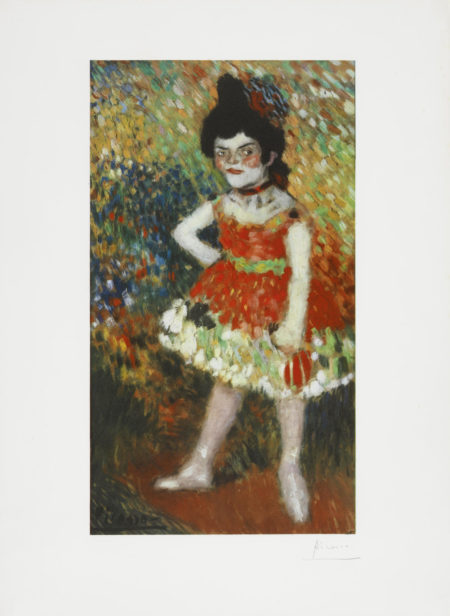 Pablo Picasso-After Pablo Picasso - La Danseuse Nain, from the Barcelona Suite-1966