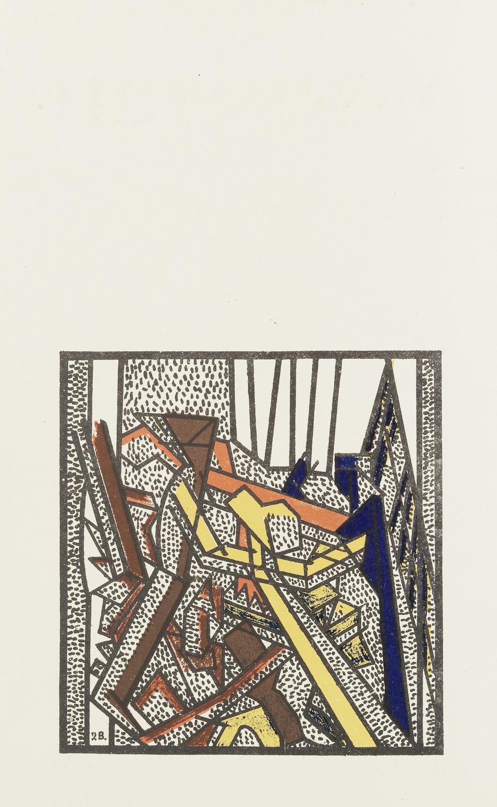 David Bomberg-Russian Ballet-1919
