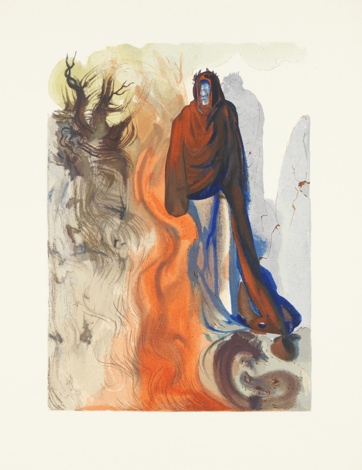 Salvador Dali-Dante Alighieri: La Divine Comedie  vol 12-1964