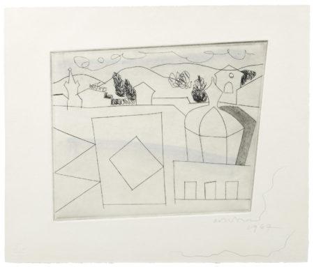 Ben Nicholson-Lucca (Small Version)-1967