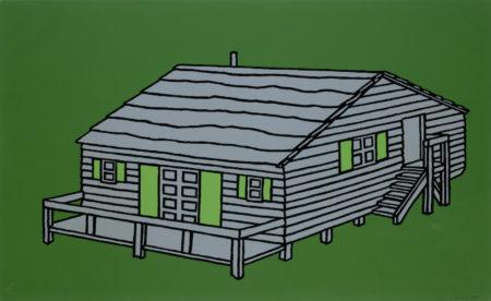 Patrick Caulfield-Weekend Cabin-1967