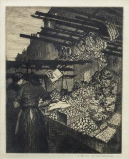 Christopher R. W. Nevinson-Little Pulteney Street-1926