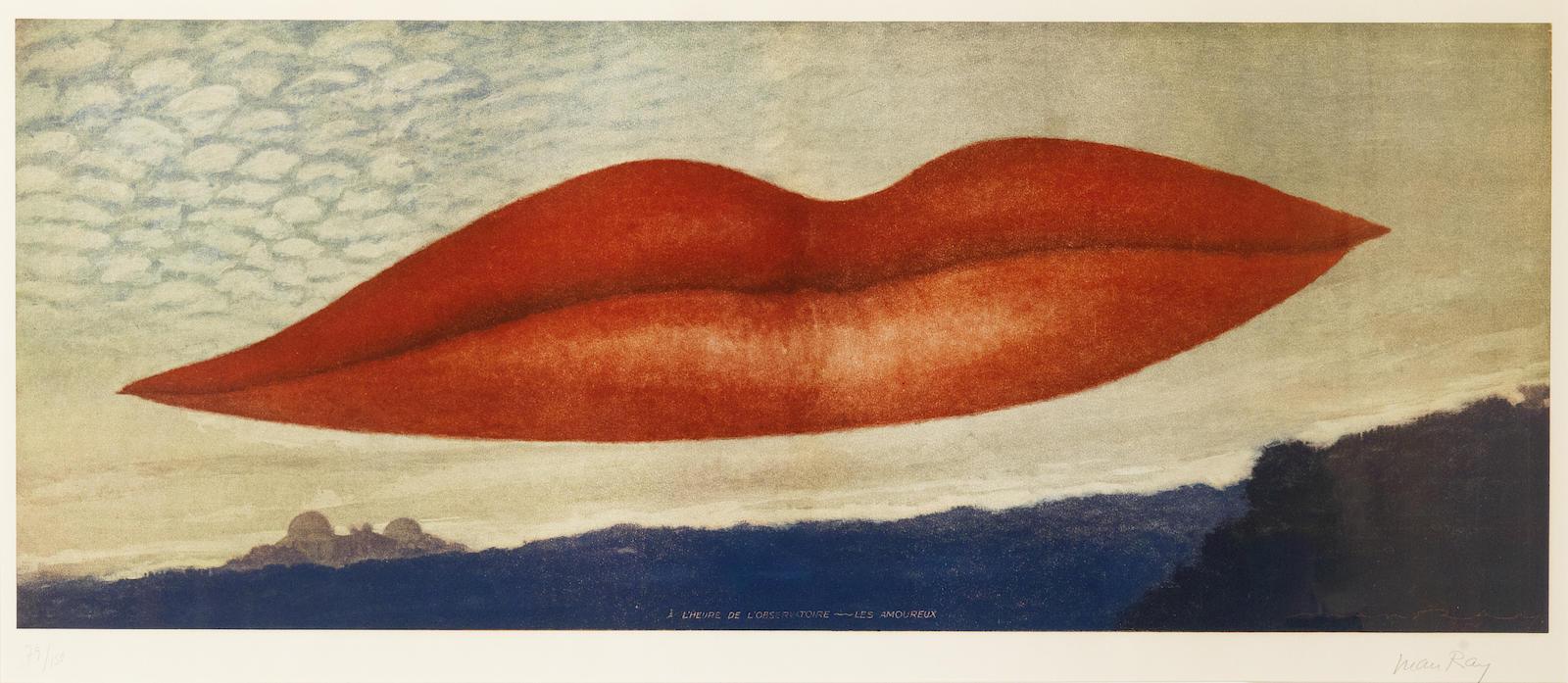 Man Ray-A l'heure de L'observatoire: Les amoureux-1970