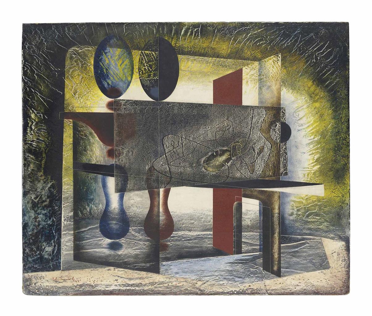 John Tunnard-Abstract Composition-1943