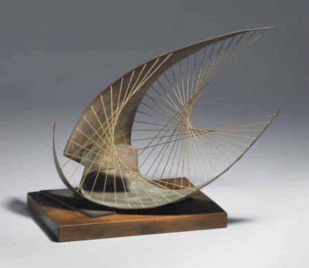 Barbara Hepworth-Stringed figure (Curlew) (Maquette)-1956