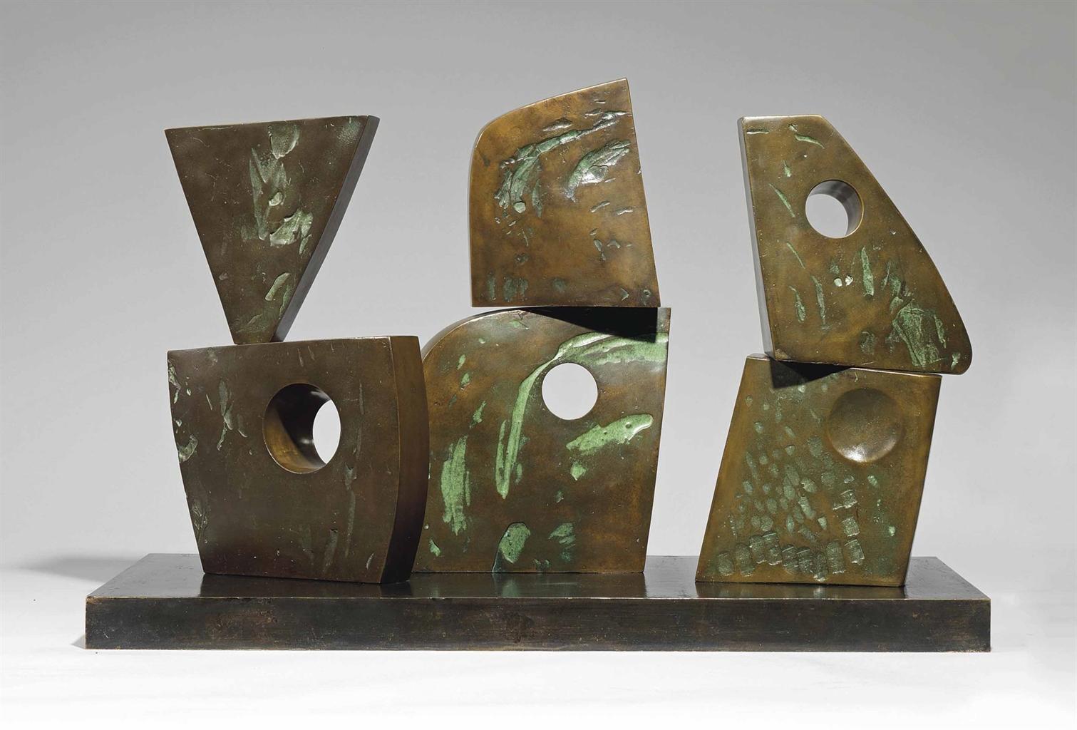 Barbara Hepworth-Six Forms (2 x 3)-1968