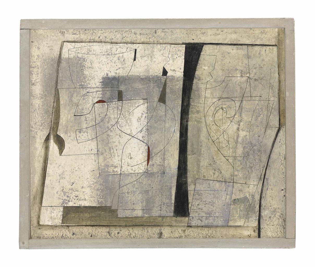 Ben Nicholson-Feb 8-49 still-life (stone)-1949