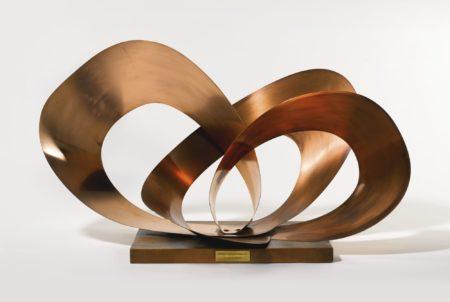 Barbara Hepworth-Forms In Movement (Galliard)-1956