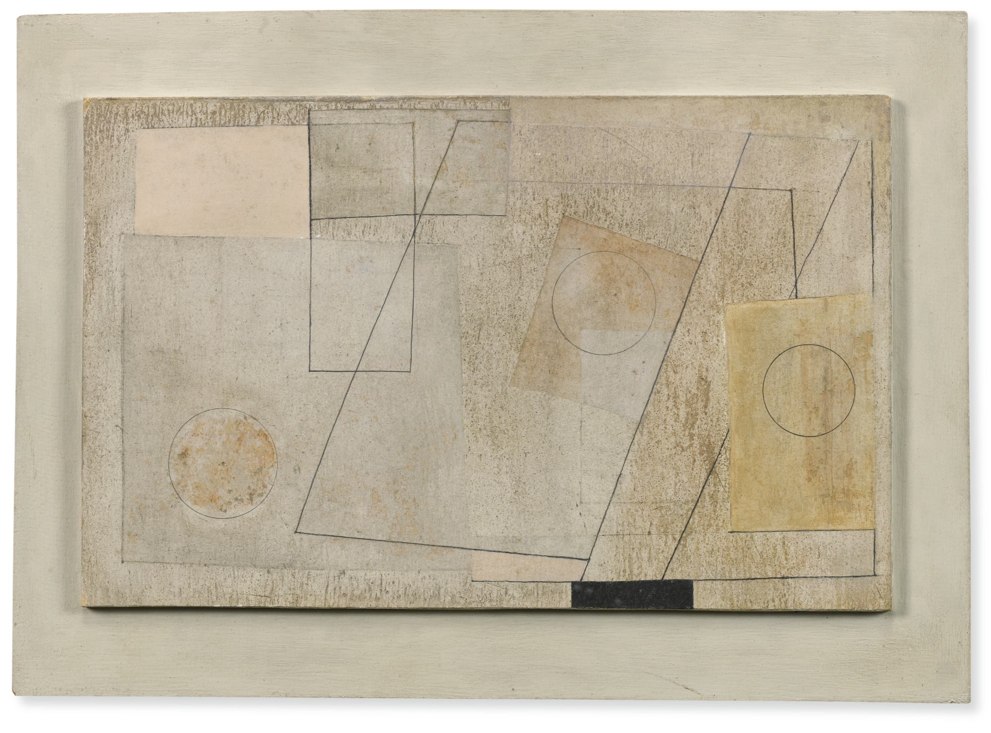 Ben Nicholson-1945 (Three Circles)-1945