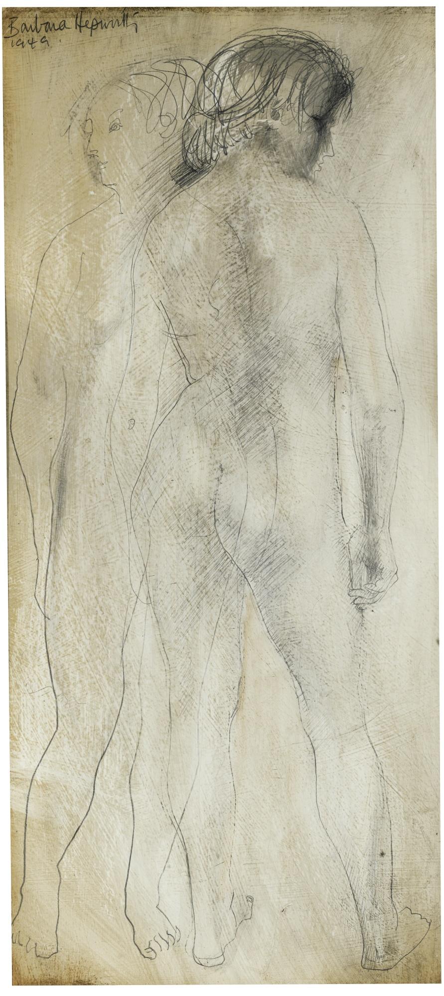 Barbara Hepworth-Two Women (Interlocking Forms)-1949